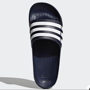 Adidas Navy Blue Duramo Slides
